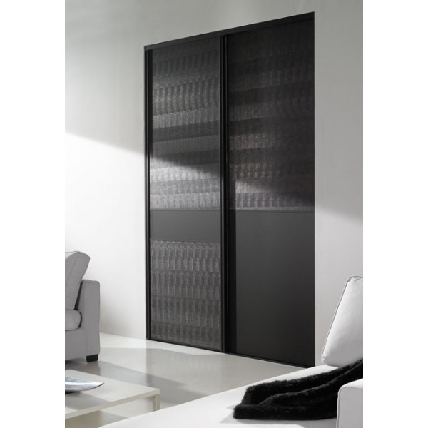 porte de placard coulissant sur mesure. Black Bedroom Furniture Sets. Home Design Ideas